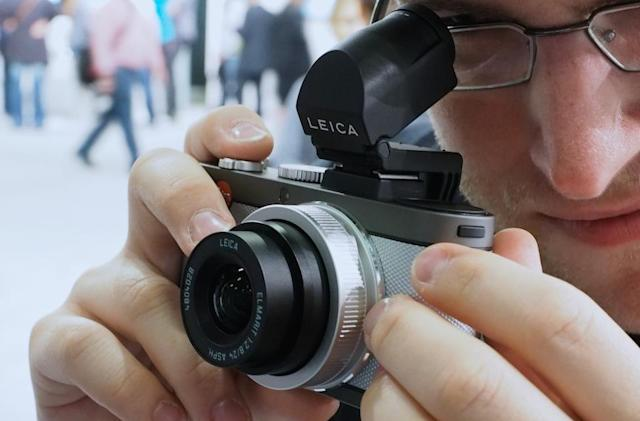 Meet the Leica X-E, an almost-affordable APS-C compact