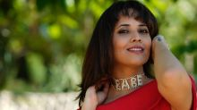 Anasuya Bharadwaj Blossoms Like A Rose In Her Red Dress And Her 'Babe' Necklace Is Wow-Worthy