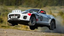 Jaguar F-Type convertible rally car might be the coolest F-Type ever