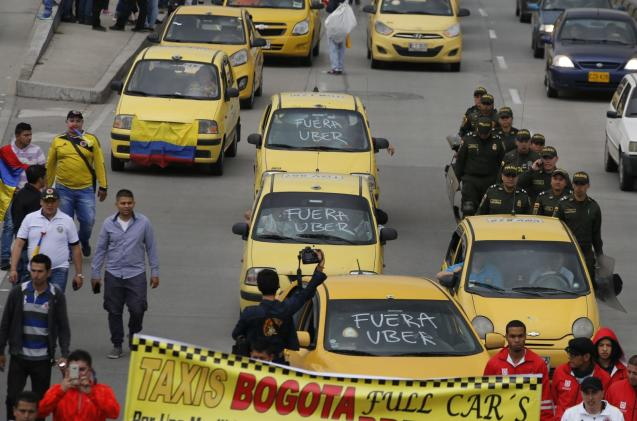 Uber is leaving Colombia after court ruling