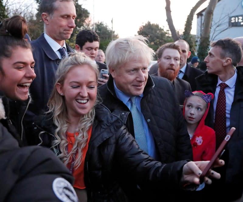 Boris Johnson extends poll lead in United Kingdom general election campaign