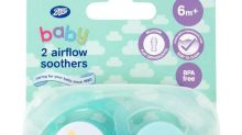 Boots recalls baby dummies over possible fault