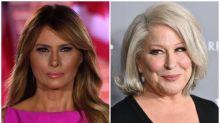 Bette Midler apologises for Melania Trump tweets after fierce backlash