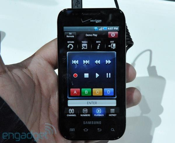 Samsung Smart Touch Android remote app is now available for download