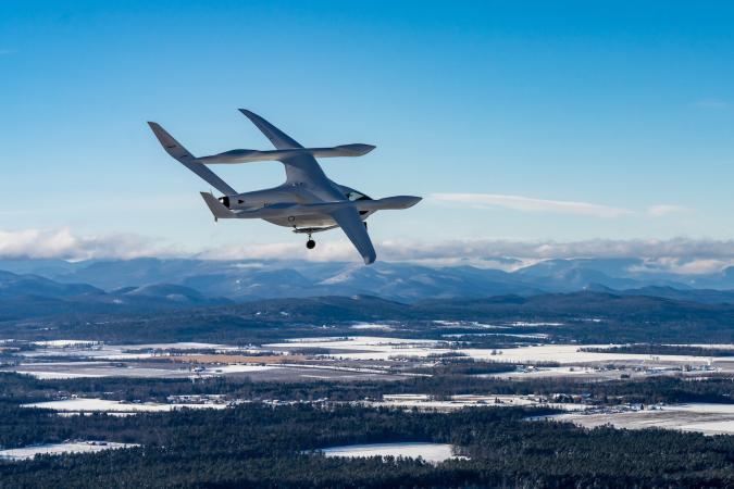 Beta Technologies Alia electric aircraft