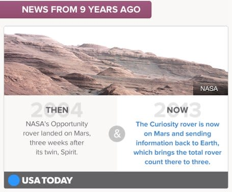 Timehop partners with USA Today to bring old news back to life