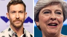 Calvin Harris and Florence Welch blast Conservative Party for using their music at annual conference