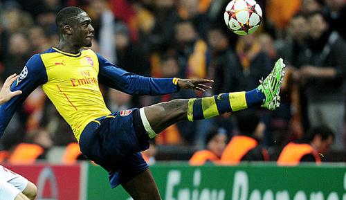 Premier League: Arsenal: Sanogo macht mit 19-Minuten-Hattrick auf sich aufmerksam