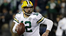 Aaron Rodgers didn't know who he was throwing to on his incredible, 54-yard touchdown pass