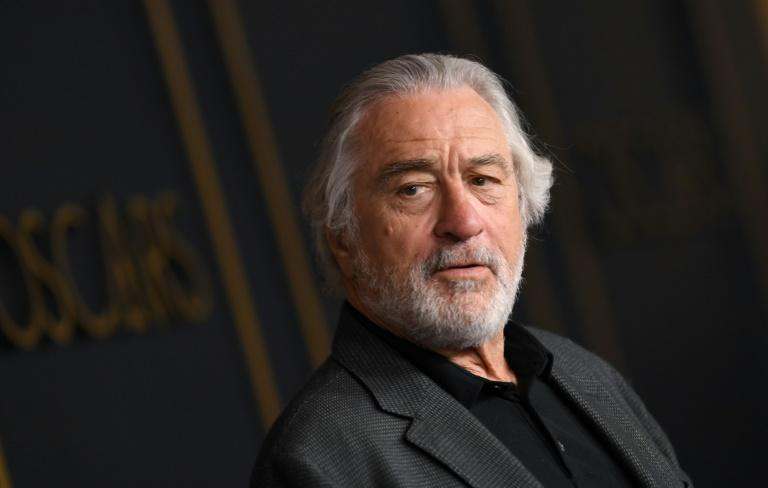 Hollywood star Robert de Niro was one of the signatories (AFP Photo/Valerie MACON)