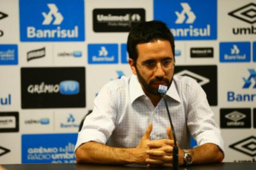 Novo gerente do Grêmio fala em desafio e responsabilidade