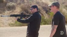 Navy Seal who shot Osama Bin Laden loses shooting contest with comedian Jim Jefferies