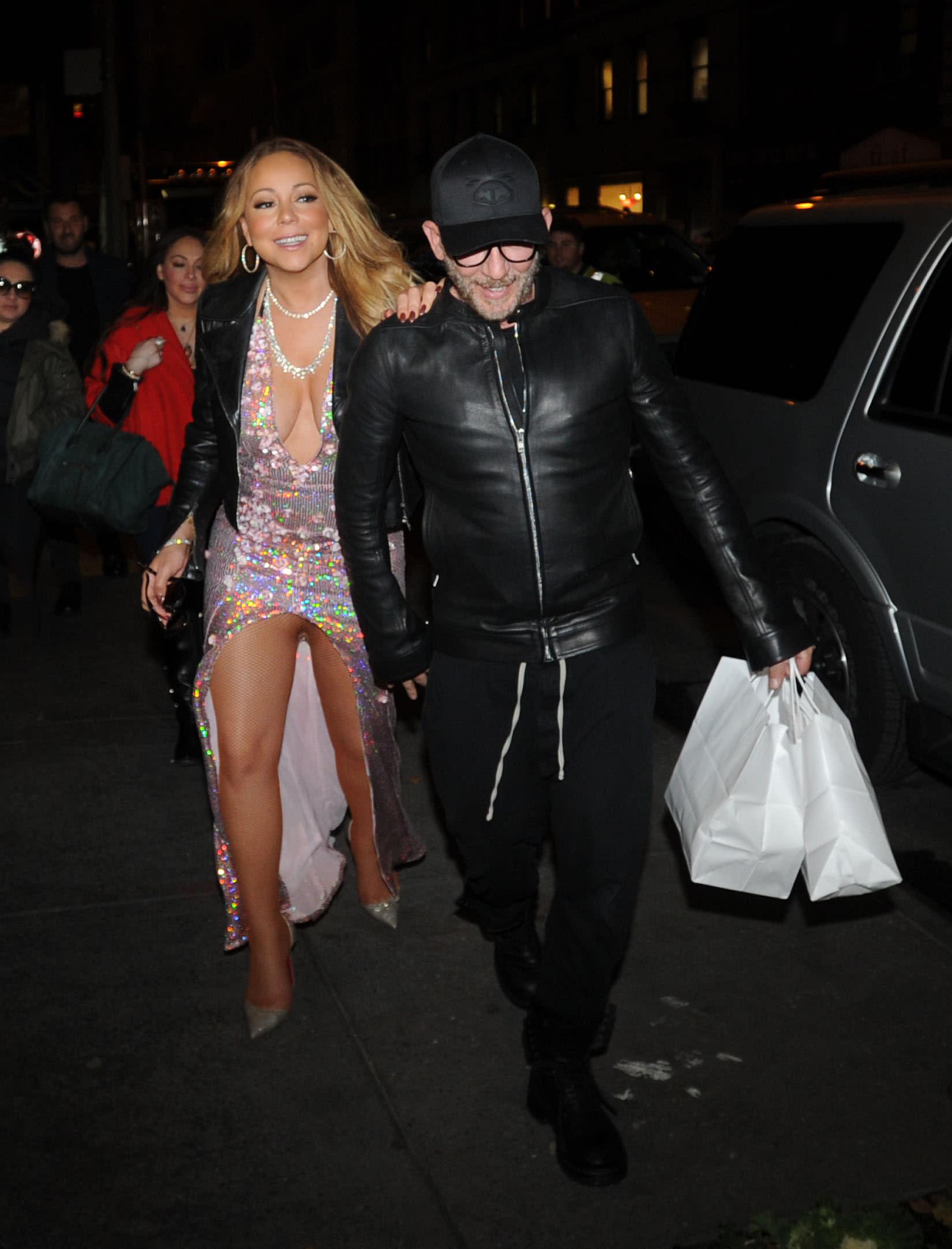 Mariah Carey Muestra Más De La Cuenta