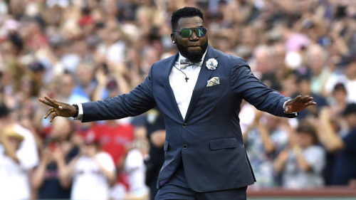 Former Red Sox star and current FOX Sports analyst David Ortiz was a much better World Series player than predictor. (AP)