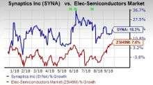 Here's Why You Should Hold Synaptics Stock in Your Portfolio
