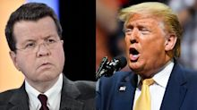 Fox News host Neil Cavuto doesn't back down after Trump tweets at him during the show