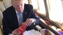 Trump Changed His Burger Order To Make It A Little Healthier