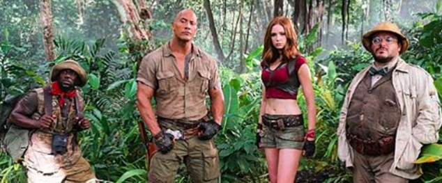 9 Theories as to Why 'Jumanji' Has Actress Karen Gillan So Scantily Clad