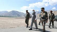 Modi rallies Indian troops after China border clash