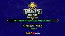 Gigantes Free Fire reúne melhores times da América do Sul