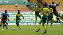 Norwich relegated after Michail Antonio hits four for West Ham