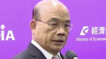 共機不斷擾台 蘇貞昌:台灣從不打擾別人 但堅決保衛國土
