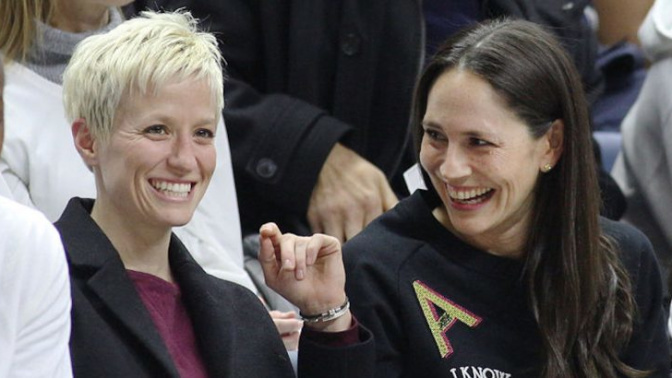 Sue Bird reveals she's gay, is dating Megan Rapinoe