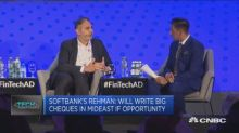SoftBank hints more companies from its $100 billion Vision Fund could expand to the Middle East
