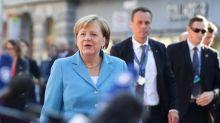 Merkel to discuss Syria with Erdogan during his visit next week