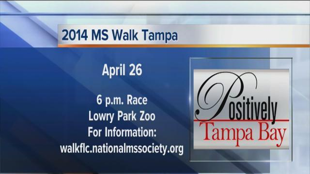 Positively Tampa Bay: 2014 MS Walk