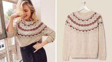 'T*twear': Shoppers spot x-rated pattern on Xmas jumper