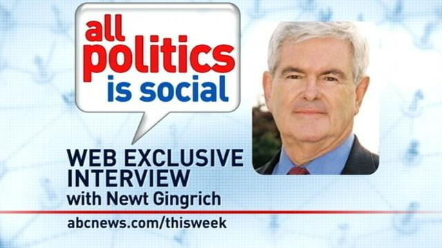 'This Week' Web Extra: Newt Gingrich