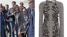 Letizia se equivoca de vestido en Ávila: ¿es su peor look del 2017?
