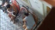 Vizinha usa câmera escondida e flagra dona de creche agredindo bebê no ES
