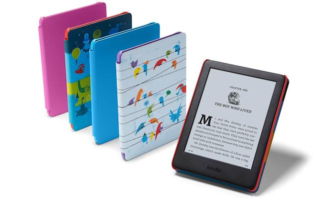 Amazon announces its first-ever Kindle for kids