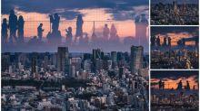 東京「渋谷SKY」超靚拍攝角度    玻璃倒影屹立東京市Twitter熱傳