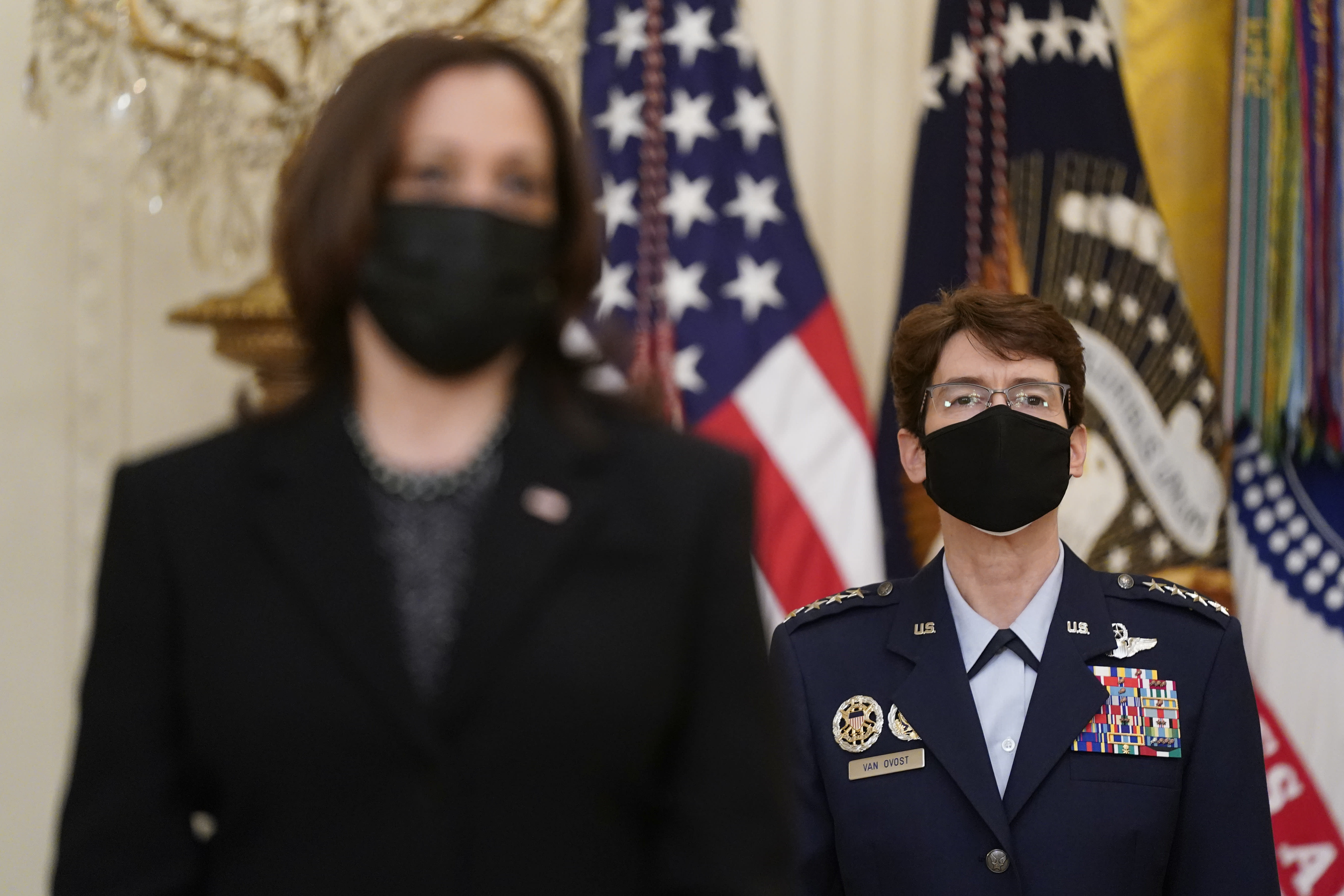 Air Force general is second woman to lead a top US command