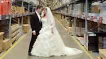 Couple Gets Married in IKEA on Valentine's Day