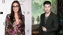 Aos 55 anos, Demi Moore está namorando Nick Jonas, 30 anos mais novo