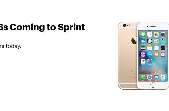 Sprint offers the iPhone 6s for $1 a month with trade-in
