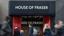 House of Fraser confirms store closures in rescue plan