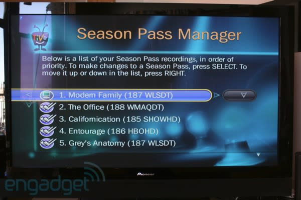 TiVo granted patent on recording Season Pass subscriptions by priority