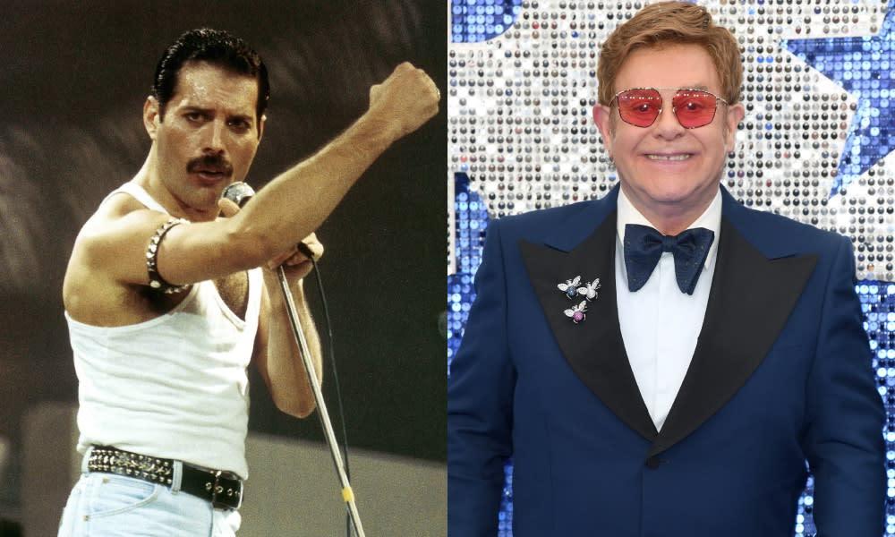 Freddie Mercury read Elton John to absolute filth backstage at Live Aid