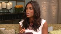 Rosario Dawson Spreads Awareness About The 'Crisis' Of Domestic Violence