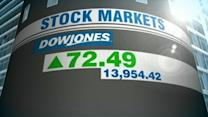 Dow Approaches 14,000-Point Milestone