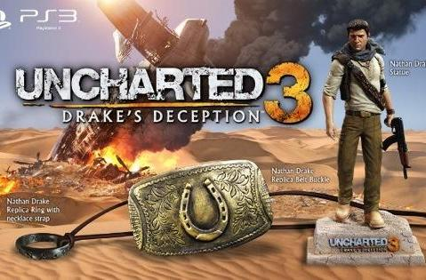 Nolan North unboxes the Uncharted 3 Collector's Edition