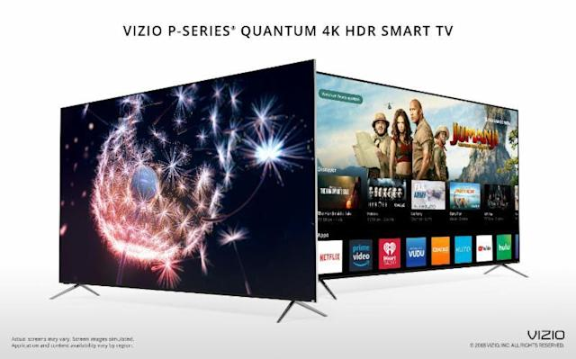 Vizio's new P-series TV is its brightest yet