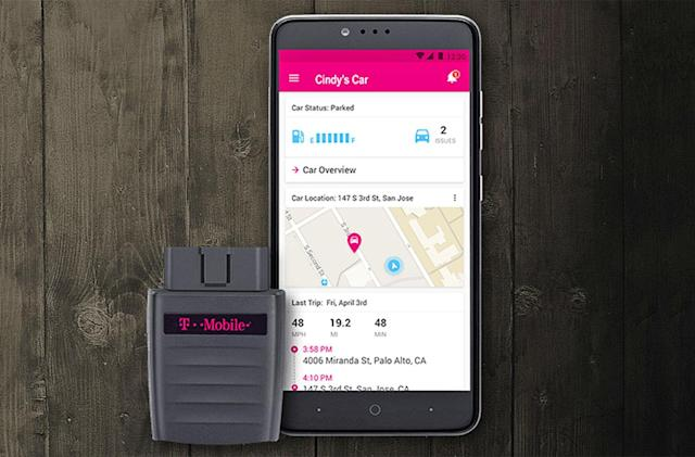 Roadside assistance is T-Mobile's latest connected car freebie