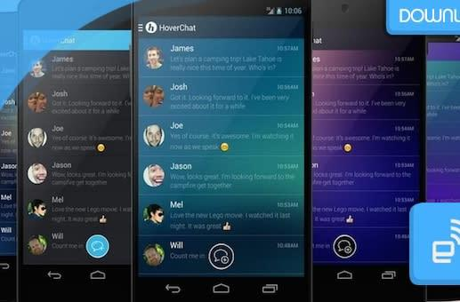 Download: HoverChat offers SMS multitasking with Facebook-like 'HoverHeads'