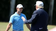 Why is it a big deal if Rory McIlroy played golf with President Trump?